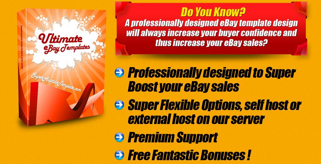 SuperAuctionTemplatecom Premium Professional EBay Templates - Premium ebay templates